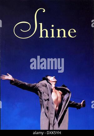 SHINE (AUS 1996) MOMENTUM FILMS GEOFFREY RUSH - Stock Photo
