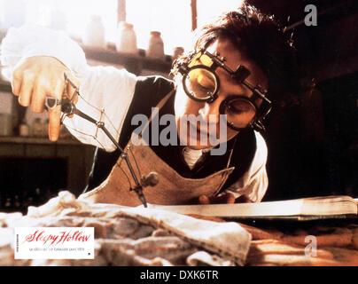 SLEEPY HOLLOW (US/GER 1999)  JOHNNY DEPP - Stock Photo