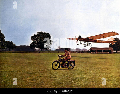 THOSE MAGNIFICENT MEN IN THEIR FLYING MACHINES - Stock Photo