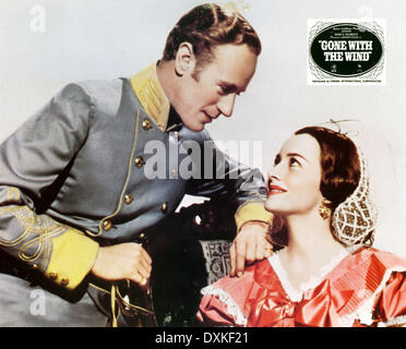 Olivia De Havilland Leslie Howard Vivien Leigh Gone With