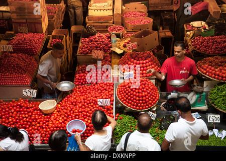 Mauritius island, Port Louis, market. - Stock Photo