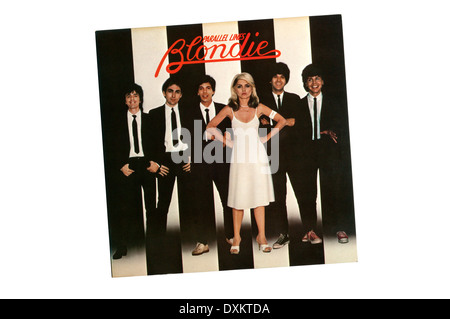Parallel Lines was the 3rd studio album by American new wave band Blondie, released in 1978 by Chrysalis Records. - Stock Photo