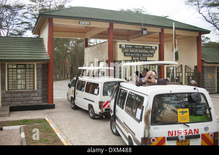 Kenya, Rift Valley, Lake Nakuru National Park - Stock Photo