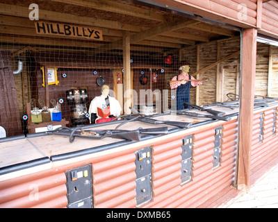 OLD FASHIONED ARCADE SHOOTING GALLERY DENOS AMUSEMENT PARK