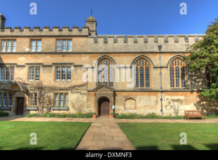 Jesus College, Oxford - Stock Photo