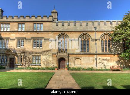 Jesus College, Oxford - Stock Photo