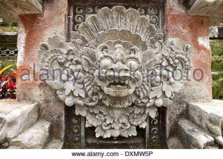 Relief at hindu temple bali indonesia stock photo for Agung decoration