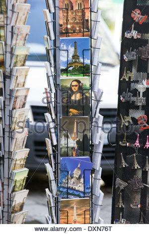 Postcards from Paris - Stock Photo