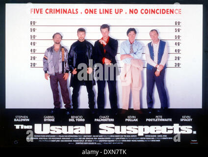 THE USUAL SUSPECTS - Stock Photo