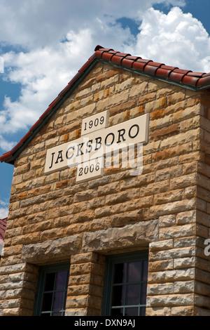Visitors Center, Jacksboro, Texas, United States of America - Stock Photo