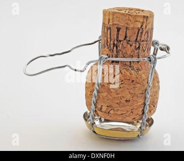 Champagne cork - Stock Photo