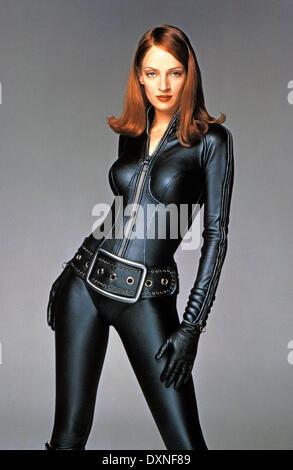 uma thurman the avengers 1998 stock photo 31096063 alamy