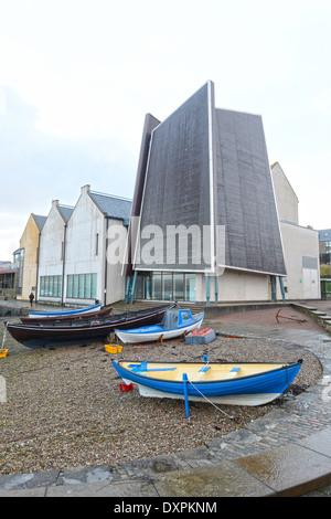 Shetland Museum and archive Lerwick Shetland isles Scotland UK - Stock Photo