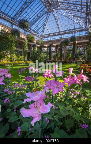 Longwood Gardens Arboretum Conservatory · Longwood Gardens Arboretum  Conservatory   Stock Photo