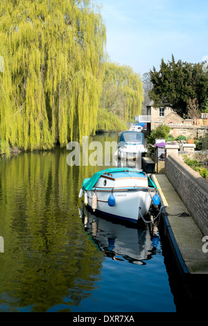 River scene on the Great Ouse. - Stock Photo