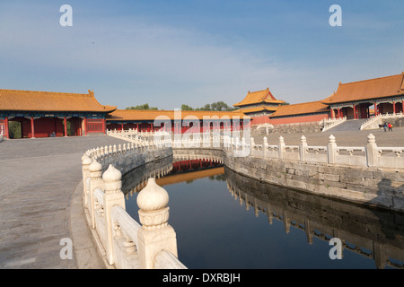 ASIA Beijing CHINA Forbidden City River of Gold - Stock Photo
