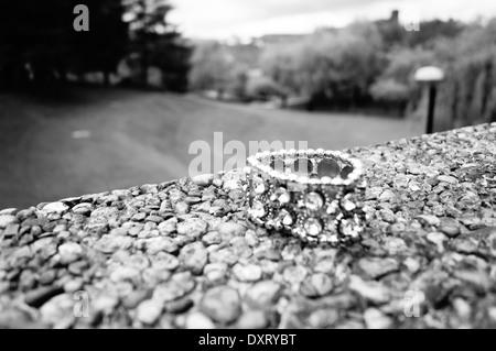Bracelet in Bradford university - Stock Photo