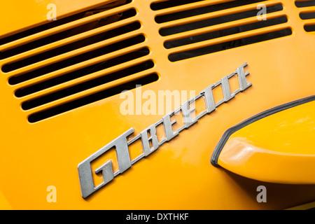 Volkswagen GT  Beetle badge. - Stock Photo