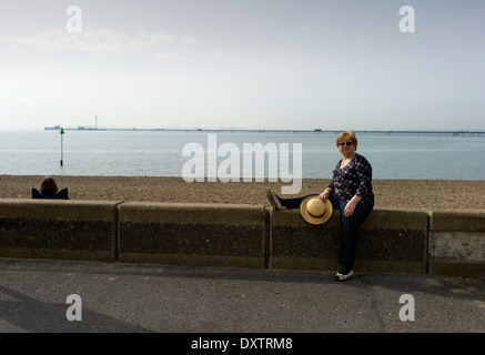 Southend-on-Sea, Essex, England. 30 March 2014 - Stock Photo