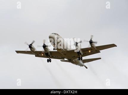 US Navy P-3C Orion Maritime Patrol Aircraft.  SCO 9025. - Stock Photo