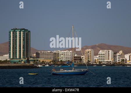 Gran Hotel Arrecife, Lanzarote - Stock Photo