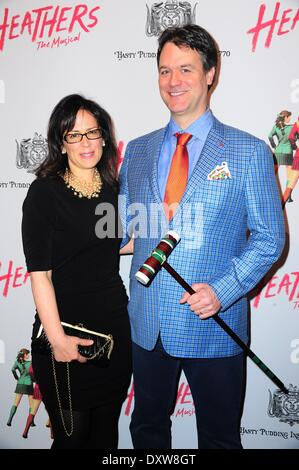 New York, NY, USA. 31st Mar, 2014. in attendance for HEATHERS: THE MUSICAL Opening Night, New World Stages, New - Stock Photo