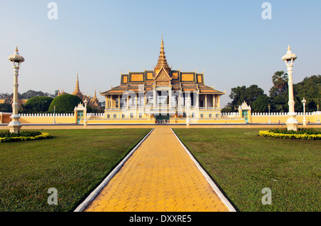 The Moonlight Pavilion ( Preah Thineang Chan Chhaya ) of the Royal Palace complex, Phnom Penh, Cambodia - Stock Photo