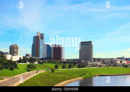 Vilnius the capital of Lithuania - Stock Photo