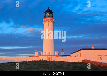 Mull of Galloway Lighthouse. The most Southerly Point in ScotlandThe Rhins,Wigtownshire, Dumfries and Galloway, - Stock Photo
