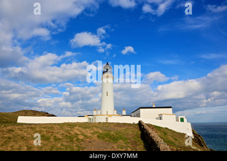 Mull of Galloway Lighthouse. The most Southerly Point in Scotland The Rhins,Wigtownshire, Dumfries and Galloway, - Stock Photo