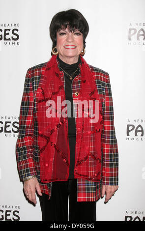 Donny & Marie Osmond's Christmas show at the Pantages Theater Featuring: JoAnne Worley Where: Los Angeles California - Stock Photo