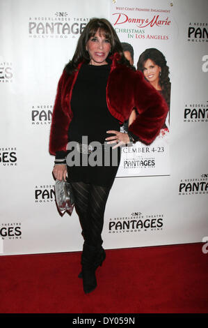 Donny & Marie Osmond's Christmas show at the Pantages Theater Featuring: Kate Linder Where: Los Angeles California - Stock Photo