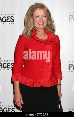 Donny & Marie Osmond's Christmas show at the Pantages Theater Featuring: Mary Hart Where: Los Angeles California - Stock Photo