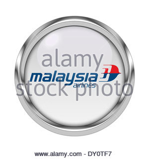 Malaysia Airlines icon logo - Stock Photo