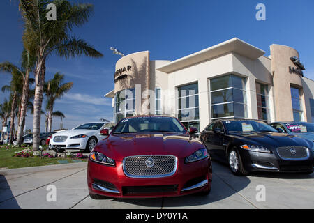 Brand New Cars At The Jaguar San Diego In Kearny Mesa, In March 2013.