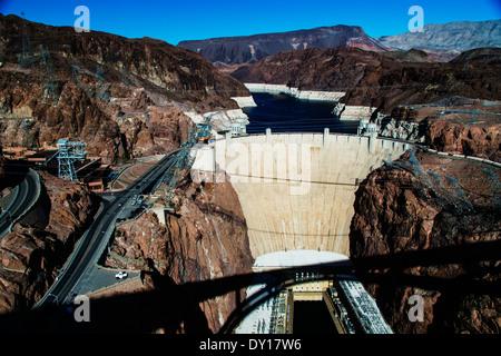 Hoover Dam Boulder City Nevada United States of America. Hoover Dam - Stock Photo