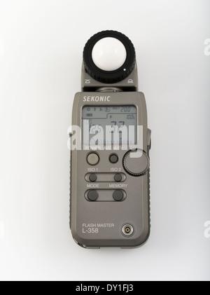 Sekonic Flashmaster L-358 Lightmeter Light Meter for photography cinematography - Stock Photo
