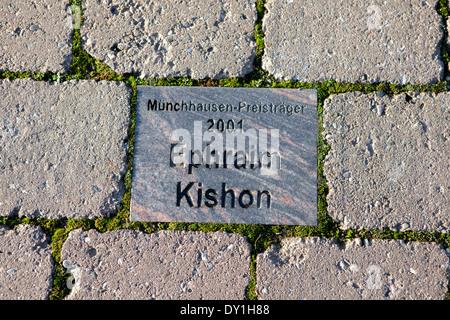 Baron Muenchhausen award 2001, Ephraim, Kishon, Bodenwerder, Weserbergland, Lower Saxony, Germany