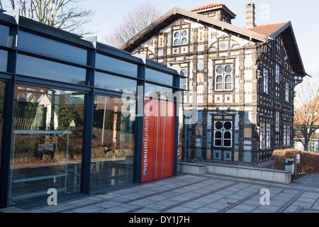 Museum Junkerhaus, Lemgo, North Rhine-Westphalia, Germany, Europe, - Stock Photo