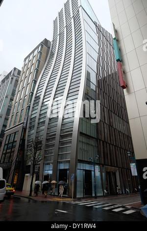 De Beers building, Ginza Tokyo. - Stock Photo