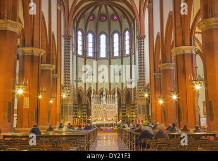BOLOGNA, ITALY - MARCH 15, 2014: Church San Francesco or Saint Francis. - Stock Photo