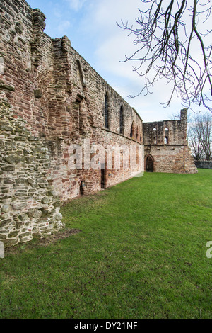 Beauly Priory in Inverness-shire, Scotland. - Stock Photo