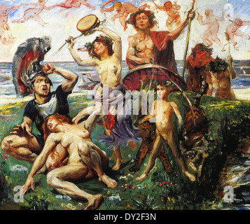 Lovis Corinth Ariadne auf Naxos - Stock Photo