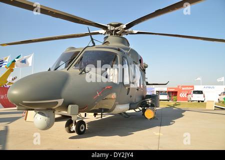Agusta Westland AW139 (HH-139A), during Fidae 2014 - Stock Photo