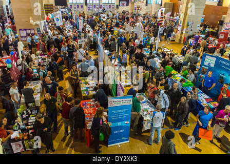 Paris, France, LGBT Gay Organization Annual Trade Show, 'le Prin-temps des Associations', by the Inter-LGBT, Stalls, - Stock Photo