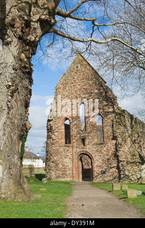 Beauly Priory - famous ruin in the town of Beauly, Inverness-shire, Scotland. - Stock Photo