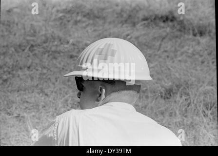 Tatum Salt Dome, Lamar County (Mississippi), nuclear test, October 22, 1964. - Stock Photo