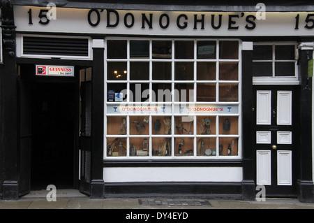 The Famous O'Donoghues Irish Music Pub in Dublin - Stock Photo