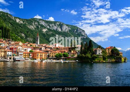 Varenna, Lake Como, Italy - Stock Photo