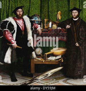 Hans Holbein the Younger The Ambassadors - Stock Photo